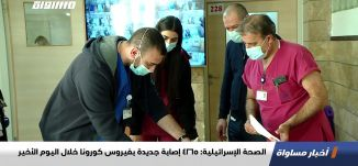 الصحة الإسرائيلية: 4265 إصابة جديدة بفيروس كورونا خلال اليوم الأخير