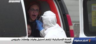 الصحة الإسرائيلية: تراجع تسجيل وفيات وإصابات بفيروس كورونا،اخبار مساواة،06.05.2020،قناة مساواة