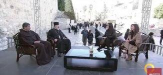 استقبال العيد المجيد لدى الطوائف الشرقية - الأب عيسى مصلح و الأب ابراهيم فلتس-#تغطية خاصة- 6-1