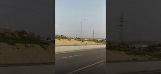 شوارع رئيسية في النقب خالية من السيارات بسبب حظر التجول  -  ياسر العقبي