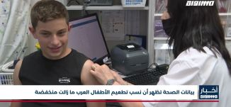 أخبار مساواة : بيانات الصحة تظهر أن نسب تطعيم الأطفال العرب ما زالت منخفضة