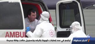 تراجع في عدد إصابات كورونا بالبلاد وتسجيل حالات وفاة جديدة،اخبار مساواة،02.05.2020