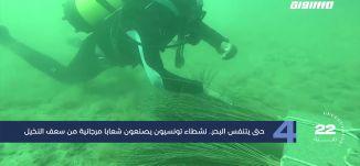مساواة 60 ثانية : حتى يتنفس البحر.. نشطاء تونسيون يصنعون شعابا مرجانية من سعف النخيل