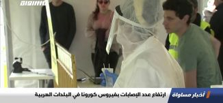 ارتفاع عدد الإصابات بفيروس كورونا في البلدات العربية،اخبار مساواة،24.04.2020