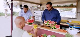 سمك بالفرن مع اعشاب، صالح خليل ، عالطاولة،ح 23، رمضان 2018، قناة مساواة الفضائية