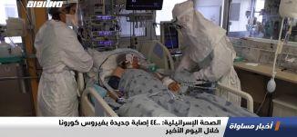 الصحة الإسرائيلية: 4400 إصابة جديدة بفيروس كورونا خلال اليوم الأخير،اخبارمساواة،17.02.21،قناة مساواة