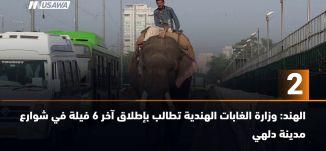 ب 60 ثانية -الهند: وزارة الغابات الهندية تطالب بإطلاق آخر 6 فيلة في شوارع مدينة دلهي،21-9-2018