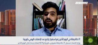 كورونا يحصد 31 ضحية خلال ساعات،امير عباس،بانوراما مساواة،07.10.2020،قناة مساواة