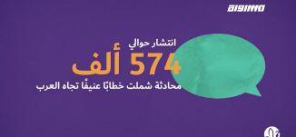 بانوراما اونلاين: ارتفاع منسوب الخطاب العنيف تجاه العرب على الشبكات الإجتماعيّة