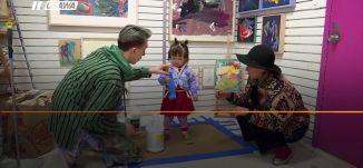 ب 60 ثانية، الولايات المتحدة: أعمال فنية لطفلة عمرها عامان تباع بأكثر من ألف دولار،5-4-2019