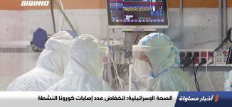 الصحة الإسرائيلية: انخفاض عدد إصابات كورونا النشطة ،اخبارمساواة،19.10.2020،قناة مساواة
