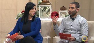 مشروع إخراج فيديو كليب وغناء بنكهة الميلاد- هديل ناصر خرمة  و راوي سروجي- #صباحنا_غير- 19-12
