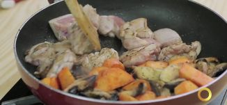 طعمات - دجاج بالبطاطا الحلوة - #صباحنا_غير- 5-7-2016- قناة مساواة الفضائية