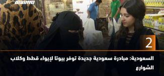 ب 60 ثانية -السعودية: مبادرة سعودية جديدة توفر بيوتا لإيواء قطط وكلاب الشوارع15-4-2019