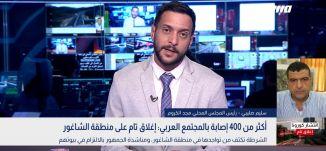 تسجيل 191 إصابة في منطقة الشمال وتشكل 45% من مجمل الإصابات بين العرب،سليم صليبي،بانوراما مساواة،15.4