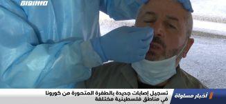 تسجيل إصابات جديدة بالطفرة المتحورة من كورونا في مناطق فلسطينية مختلفة،اخبارمساواة،30.1.21،مساواة