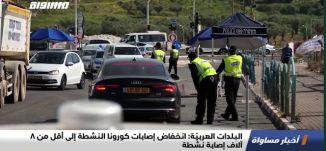 البلدات العربيّة: انخفاض إصابات كورونا النشطة إلى أفل من 8 آلاف إصابة نشطة،اخبار مساواة،30.09،مساواة