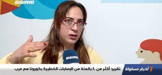 تقرير: أكثر من 40 بالمئة من الإصابات الخطيرة بكورونا هم عرب،تقرير،اخبارمساواة،07.01.2021،قناة مساواة