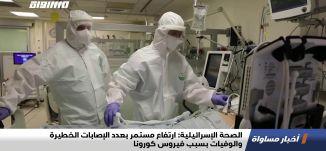 الصحة الإسرائيلية: ارتفاع مستمر بعدد الإصابات الخطيرة والوفيات بسبب فيروس كورونا،اخبارمساواة،03.02