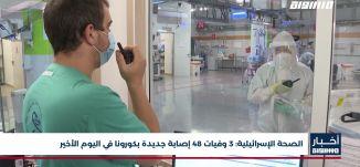 أخبار مساواة: الصحة الإسرائيلية.. 3 وفيات 48 إصابة جديدة بكورونا في اليوم الأخير