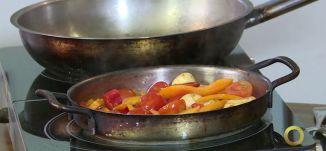 فقرة المطبخ - القريدس بالخضروات - #صباحنا_غير- 20-12-2016- قناة مساواة الفضائية