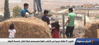 تقرير: 12 طفلا عربيا من النقب لقوا مصرعهم غرقا خلال خمسة أعوام،اخبارمساواة،23.10.2020،مساواة