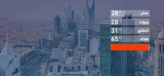 حالة الطقس في العالم -15-09-2019 - قناة مساواة الفضائية - MusawaChannel