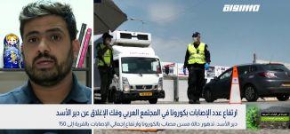 ارتفاع عدد الإصابات بكورونا في المجتمع العربي وفك الإغلاق عن دير الأسد،بانوراما مساواة،26.04.2020