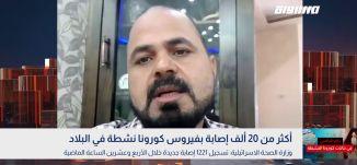 أكثر من 20 ألف إصابة بفيروس كورونا نشطة في البلاد،سلمان ابو عبيد،بانوراما مساواة،13.07.2020،مساواة